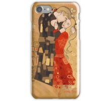 The Invention of the Kiss iPhone Case/Skin