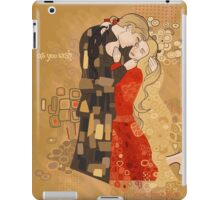 The Invention of the Kiss iPad Case/Skin