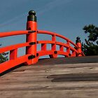 Red Railing by phil decocco