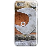 Spanner and bolt iPhone Case/Skin
