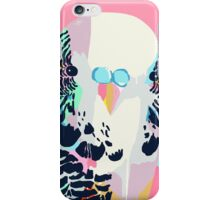 Budgerigar Pink iPhone Case/Skin