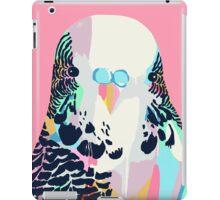 Budgerigar Pink iPad Case/Skin