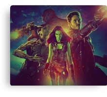 Guardians Of The Galaxy Design Canvas Print