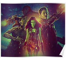 Guardians Of The Galaxy Design Poster
