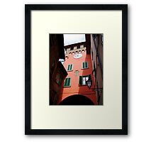 Building in Tuscany Framed Print