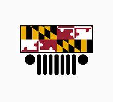 Jeep Wrangler Maryland Flag Unisex T-Shirt
