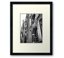 Amsterdam shutters Framed Print