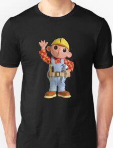 Distorted Bob The Builder T-Shirt and Case T-Shirt