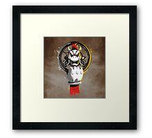 MAD KART Framed Print
