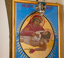 Our Lady of Yankalilla - Icon by Werner Padarin