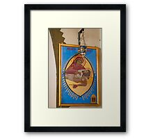 Our Lady of Yankalilla - Icon Framed Print