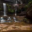 A Closer View - Wentworth Falls, NSW by Malcolm Katon