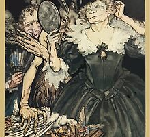 Comus Illustrated by Arthur Rackham 1921 0037 Mirror by wetdryvac