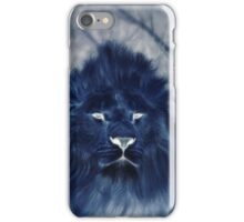 Mysterious Dark Ghost Lion iPhone Case/Skin