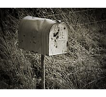 Rural Mail Box Photographic Print