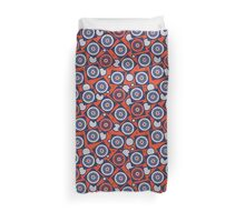 Retro Pattern, geometric, abstract Duvet Cover