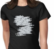 west coast whitebait Womens Fitted T-Shirt