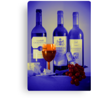 Cheese and Wine: A Colourful Evening Canvas Print