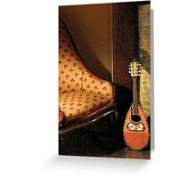 Lute Greeting Card