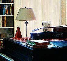 Piano and Guitar by Susan Savad