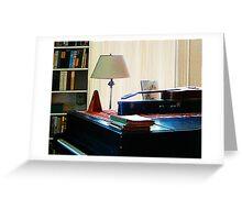 Piano and Guitar Greeting Card