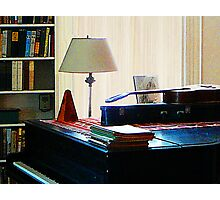 Piano and Guitar Photographic Print