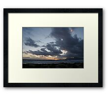 Moving Winds Framed Print