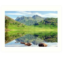 A View Of The Pikes Art Print