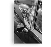 black'n'chrome cadillac Canvas Print