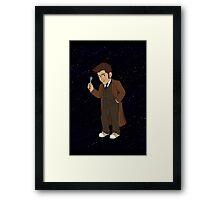 Tenth Doctor (Brown Suit) Framed Print