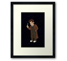 Tenth Doctor (Brown Suit) Framed Print