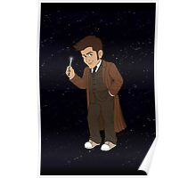Tenth Doctor (Brown Suit) Poster