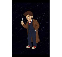 Tenth Doctor (Blue Suit) Photographic Print
