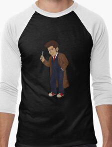 Tenth Doctor (Blue Suit) Men's Baseball ¾ T-Shirt