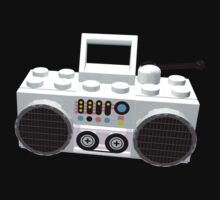 Lego Ghetto Blaster by geekmorris