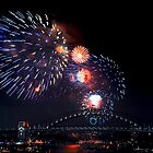 New Years Eve - Sydney 9pm by Bill Fonseca