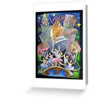 Celebrate...City at Night Greeting Card