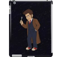Tenth Doctor (Blue Suit) iPad Case/Skin