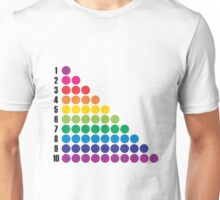 Number BRIGHTS! 1, 2, 3... Unisex T-Shirt