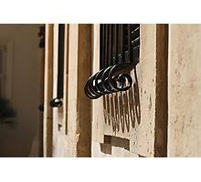 A Maltese Window Photographic Print
