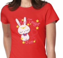 Mars Tough Bun Womens Fitted T-Shirt