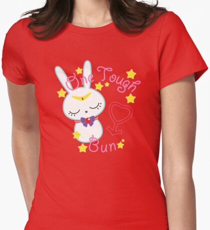 Mars Tough Bun Womens Fitted T-Shirt