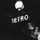 Metro Sign Paris Night by Gordon Lukesh