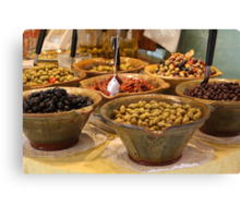 I love olives!!!  Can't you just taste them? Canvas Print