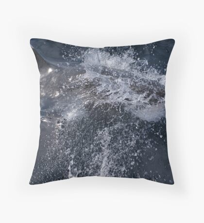 In The Face Of Danger Throw Pillow