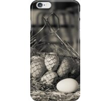 Farm Fresh Eggs iPhone Case/Skin