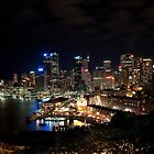 Sydney Nightlights  by MiImages
