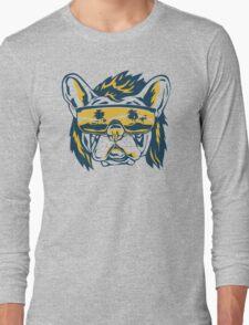 Beach Pooch Funny TShirt Epic T-shirt Humor Tees Cool Tee Long Sleeve T-Shirt