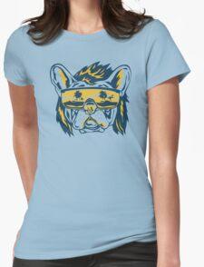 Beach Pooch Funny TShirt Epic T-shirt Humor Tees Cool Tee Womens Fitted T-Shirt