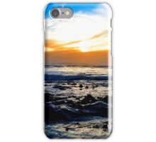 serene seas at rocky beal beach iPhone Case/Skin